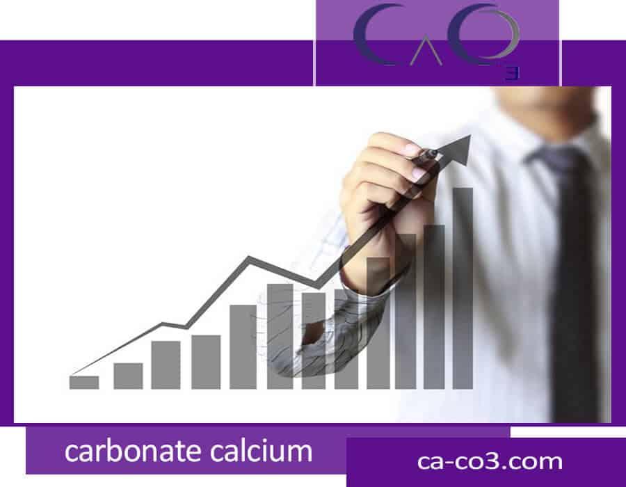 رشد بازار کربنات کلسیم