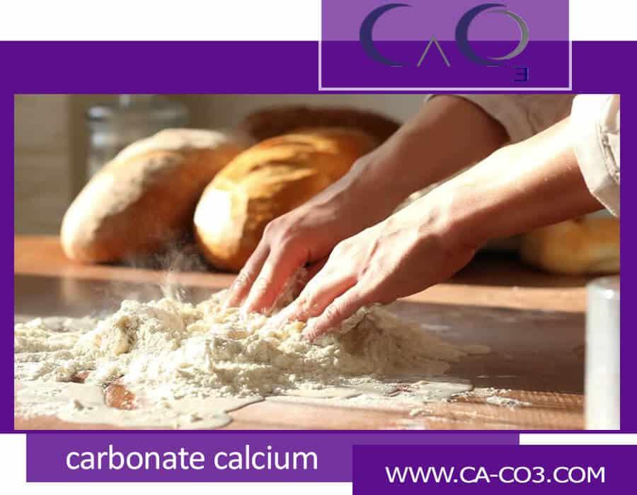 کاربرد کربنات کلسیم در خمیرنان