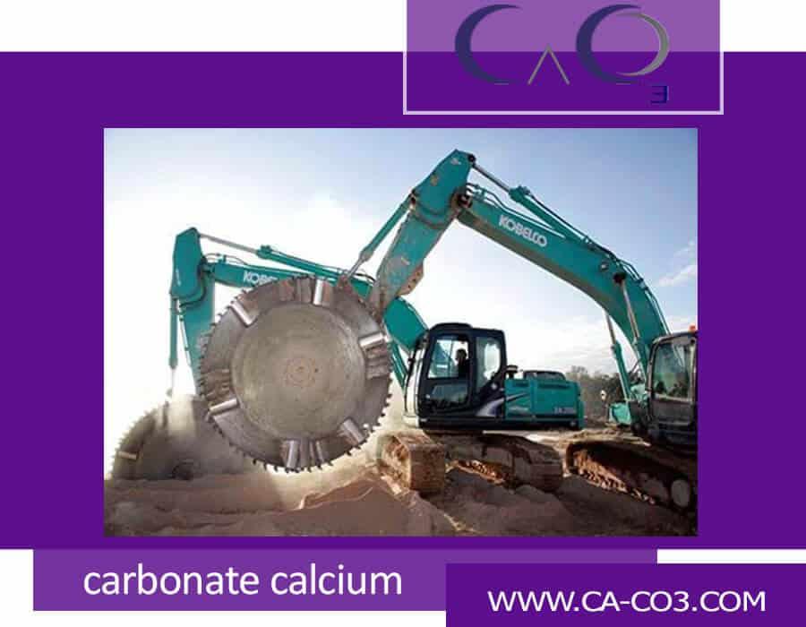 ابزارهای برش سنگ کربنات کلسیم چیست؟