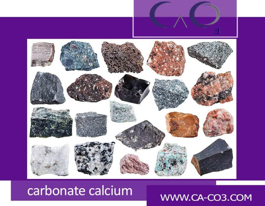 نحوه پیدایش سنگهای حاوی کربنات کلسیم