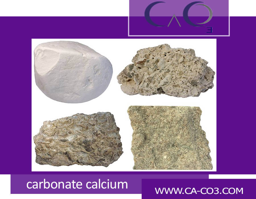 لیست انواع سنگ آهک از مجموعه سنگهای کربنات کلسیم دار