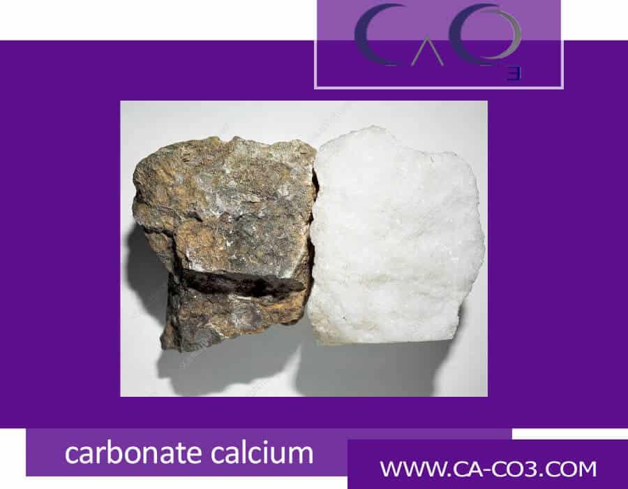 سنگ آهک(کربنات کلسیم) یا سنگ مرمر تفاوت درچیست؟