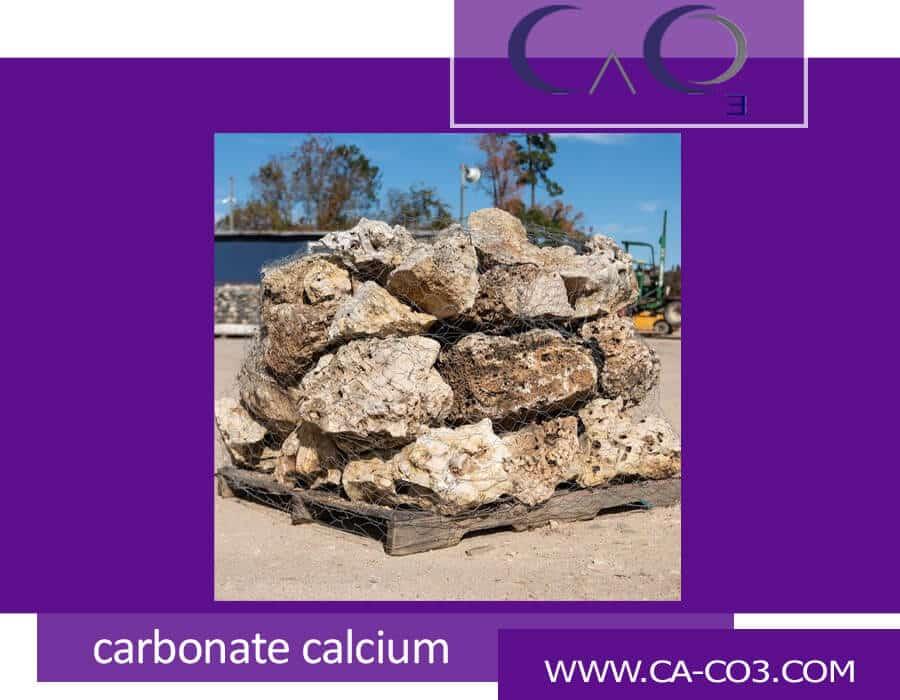 استخراج کلوخه کربنات کلسیم چگونه است؟