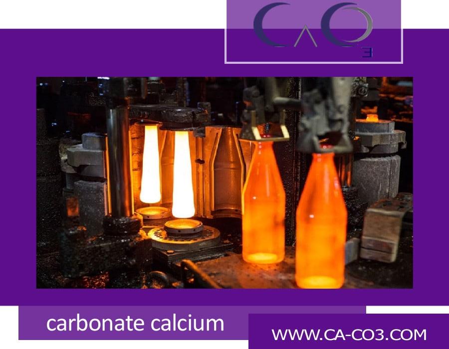 نقش سنگ کربنات کلسیم در صنعت ساخت شیشه