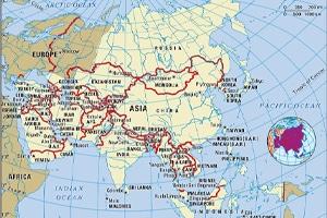 منابع مهم اقتصادی و معدنی آسیا